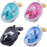 Smaco Anti-Fog Anti-Leak Full Face Silicone Scuba Diving Swimming Snorkel Mask