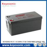 Marcação UL SGS ISO Bateria de gel para inversor bateria solar 24V 180 Ah Bateria