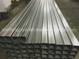 Pipe rectangulaire de grand dos d'acier inoxydable d'AISI 304