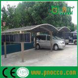 Resistente y elegante Carprots aluminio/ marquesinas con techo curvo