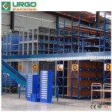 Multi racking suportado modular nivelado do mezanino