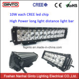 Barre imperméable à l'eau d'éclairage LED de 4X4 12inch pour la jeep, 5700K de extraction