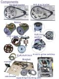 Precio del uso 220V 300-500kg de la larga vida del abrelatas de la puerta del garage Niza