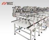 Zp100 circulent machine à emballer pour la nourriture