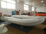 Liya 2.4-4.8m flache Unterseiten-Aluminiumfischerboot-Ponton-Boots-Fischen