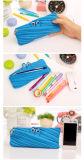 Papeterie créatrice de sac de crayon de tirette simple pour poche mignonne de crayon d'approvisionnements d'école de toile de sac de tirette de monstre la grande