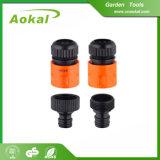 Embouts de durites de l'eau de jardin et embouts de durites flexibles en plastique d'adaptateurs