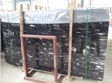 Controsoffitto di marmo/lastre/mattonelle delle vene bianche nere d'argento di Dargon per il progetto di costruzione