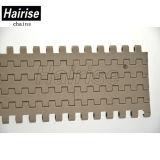 Material de POM Hairise Brown Har-1500 tipo plano o tapete de transporte