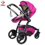 4개의 바퀴 좋은 안정성 하락 저항 아기 차 안전