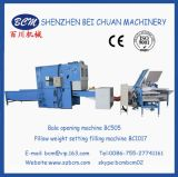 Relleno de la configuración del peso de la almohadilla y máquina de la apertura de la fibra