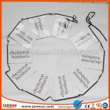 Preiswerte Druckpapier-Markierungsfahne, die für Dekoration und das Bekanntmachen hängt