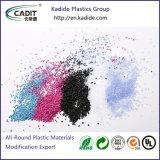 El color amarillo Masterbatch de material plástico utilizado para la electrónica