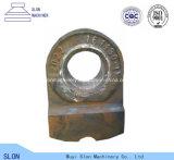 Hoher Mangan-Stahl-Zerkleinerungsmaschine-Hammer-Kopf für Hammerbrecher