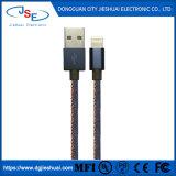 Imf trenzada de cuero duradero Ultra Long el cable del cargador para iPhone iPad y más dispositivos IOS