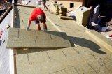 Wand-Isolierung Rockwool Vorstand