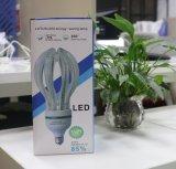 L'ampoule de lotus de DEL fleurit la lampe de l'économie d'énergie 50W