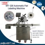 Mt500 de Automatische Dubbele Machine van de Etikettering van Kanten Vlakke voor Kartons