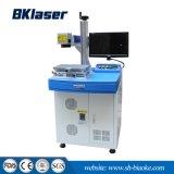 Marcador de marcadora láser de fibra óptica de 100W en metales Acero