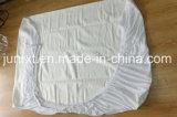 Cubierta ajustada primeros del colchón del hotel del protector del colchón para el lecho de la base