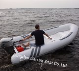Il Ce gonfiabile della nave di soccorso del battello pneumatico della vetroresina di Liya 3-8persons ha approvato