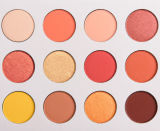 Colorpop Sí por favor, 12 colores Shimmer Eyeshadow impermeable