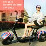 Les deux éléments neufs retirent la batterie avec la vente chaude de scooter sur le marché