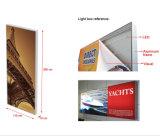 Kundenspezifischer Aluminiumheller Kasten des spannkraft-Gewebe-Rahmen-Systems-Gewebe-LED