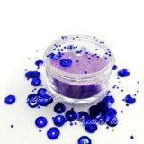 Polvere blu scuro brillante di scintillio del grado delle estetiche di colore per bellezza del chiodo