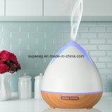 Nuevos Productos 2018 Madera 400ml difusor de aroma fresco Mist Maker Difusor de aceites esenciales para el hogar, Yoga, Dormitorio