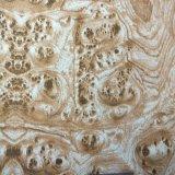 ブラウンの節玉の木製の穀物水転送の印刷のフィルムNo. M-21A