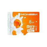 Carte mémoire sd micro 4GB 8GB 16GB 128GB 256GB de vitesse faite sur commande du logo 32GB Class10