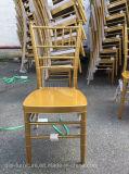 Empilar la silla Tiffany de Chiavari del metal Wedding la silla