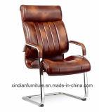 使用されるオフィスのための金属の会合の主任の椅子および直面される革