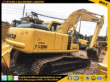 Usado original en japonés excavadora sobre orugas Komatsu PC200-6/PC200-6 Excavadora hidráulica