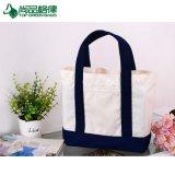 Promotion réutilisables en toile de coton sacs fourre-tout pour le shopping