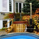 Nice popular Red Cedar spa Jacuzzi Exterior Ofurôs em madeira