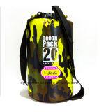 Sport de plein air Pack Océan logo personnalisé en PVC Sac à sec