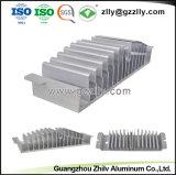 관례는 양극 처리 & CNC 기계로 가공을%s 가진 양극 처리한 알루미늄 밀어남을 솔질했다