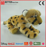 Jouet mou de léopard de la peluche En71 de guépard réaliste de peluche