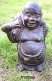 Polyresin Buddha 의 종교 작은 조상 Buddha 동상