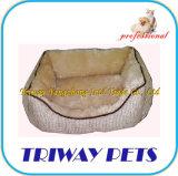 慰めの針の毛皮犬猫ペットベッド(WY101088A/C)