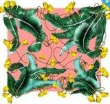 Neuester abstrakter Entwurfs-Seide-Schal