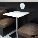 Tabelas e cadeiras de pedra artificiais para o jogo da tabela do restaurante da barra