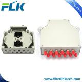 12/St Simplex trilho DIN de metal a junção de fibra óptica Terminal/Caixa de Terminação