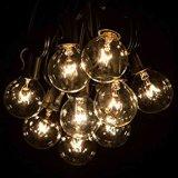 Outdoor Watherproof chaîne LED lumière LED avec ampoule à filament S14
