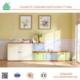 Мебель самомоднейшего деревянного шкафа шкафа ботинок малого деревянного дешевая оптовая обувает шкаф с местом