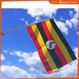 スポーツ・イベントのウガンダのカスタム各国用の手持ち型のフラグ