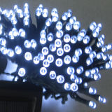Luz Multi-Color da corda do diodo emissor de luz da potência solar para a decoração do Natal
