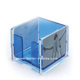 Коробка памятки изготовленный на заказ акрилового кубика памятки пластичная